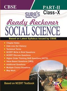 10th Standard CBSE (Ready Reckoner) Social Science Part II Exam Guide