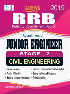 RRB Junior Engineer - Stage - 2 Civil Engineering Exam Books 2019