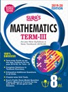 SURA`S 8th Standard Guide Mathematics Term 3 Exam Guide 2019 English Medium (New Syllabus 2019-20 Edition)