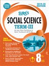 SURA`S 8th Standard Guide Social Science Term 3 Exam Guide 2019 English Medium (New Syllabus 2019-20 Edition)