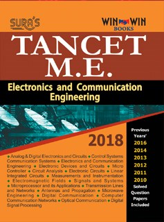 TANCET ME ECE Entrance Exam Books 2018