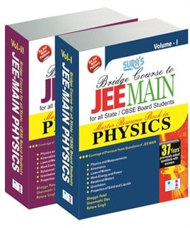 JEE Main Physics Exam Book ( Volume I & II)