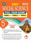 SURA`S 5TH STD SOCIAL SCIENCE FULL YEAR GUIDE (TERM1+TERM2+TERM3) ENGLISH MEDIUM 2021-22 Edition - based on Samacheer Kalvi Textbook 2021
