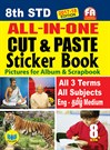 8th Standard All in One Cut & Paste Sticker Book Tamilnadu State Board Samcheer Syllabus