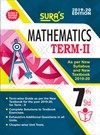 SURA`S 7th Standard Guide Mathematics Term 2 Exam Guide 2019 English Medium (New Syllabus 2019-20 Edition)