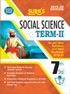 SURA`S 7th Standard Guide Social Science Term 2 Exam Guide 2019 English Medium (New Syllabus 2019-20 Edition)