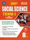 SURA`S 8th Standard Guide Social Science Term I Exam Guide 2019 English Medium (New Syllabus 2019-20 Edition)