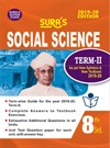 SURA`S 8th Standard Guide Social Science Term 2 Exam Guide 2019 English Medium (New Syllabus 2019-20 Edition)