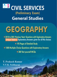 UPSC Civil Services General Studies Geography Exam Books 2019