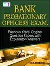 Bank Probationary Officers Exam Questions & Answers