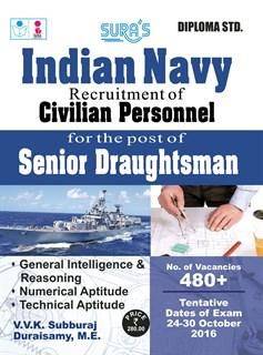 Indian Navy Senior Draughtsman Exam Guides 2019
