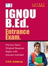IGNOU B.Ed. Entrance Exam Study Material  & Preparation Guide Book