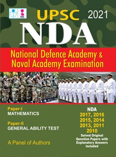National Defence Academy NDA Entrance Exam Guide Book