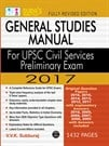 General Studies Manual for UPSC Civil Services Prelims Exam Books 2017