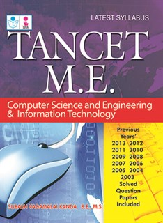 TANCET M.E. Computer Science and Engineering & Information Technology