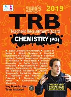 TRB Chemistry PG Exam Books 2019