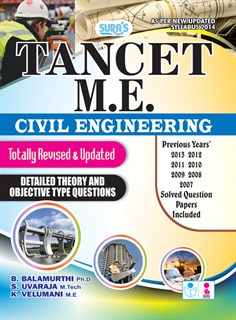TANCET M.E. Civil Engineering Exam Books 2018