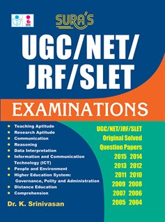 UGC / NET / JRF / SLET Examinations Original Solved Question Papers