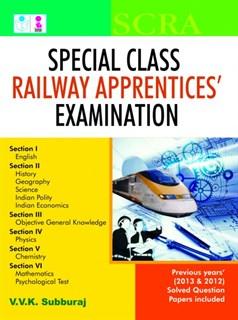 Special Class Railway Apprentice Examination (SCRA)