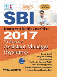 SBI Assistant Manager (Systems) Exam Books 2017