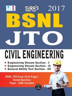 BSNL JTO Civil Engineering Exam Books 2017