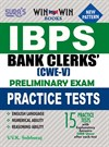 IBPS Bank Clerk CWE - V Preliminary Exam Practice Test Book | IBPS Bank Clerk Exam Book | IBPS CWE Clerk Exam Books
