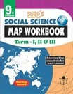 9th Standard Social Science Map Work Book Term I II and III English Medium English Medium Tamilnadu State Board Samacheer Syllabus