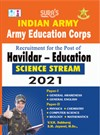 Indian Army Education Corps (Havildar Education)Science Stream Exam Books 2021