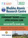 SURA`S Bhabha Atomic Research Centre(BARC) (Stipendiary Trainee Category II & Upper Division Clerk) Exam Books - LATEST EDITION 2022