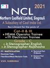 NCL ( Northern Coalfield Limited ) Cat II & III ( Hemm Operator & ITI Electrician Trainee and Grade C ( Jr Stenographer English , Rajbhasha ) Exam Books 2020