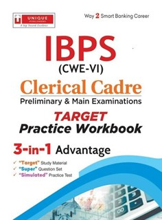 IBPS (CWE-VI) Clerical Cadre Preliminary & Main Examinations Practice Workbook