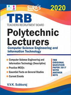 TRB Lecturers ( Computer Science & Engineering  ) Exam (Polytechnic) Books 2020