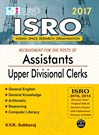ISRO Assistants Upper Divisional Clerks Exam Books 2017