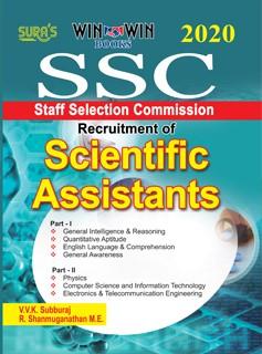 SSC Scientific Assistants Exam Books