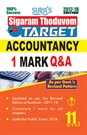 11th Standard Accountancy ( Sigaram Thoduvom ) ( Target ) 1 Marks Question and Answers Guide 2017 in English