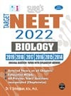 SURA`S NEET Biology (Self Preparation) Entrance Exam Books 2022 with Original Question Papers Explanatory Answers - LATEST EDITION