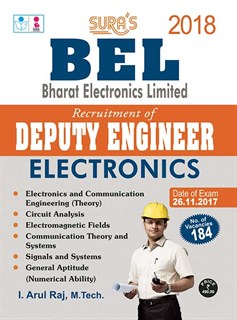 BEL Deputy Engineer Electronics Exam Books 2017