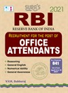 RBI (Reserve Bank of India) Office Attendants Exam Books 2021