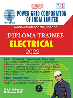 SURA`S PGCIL (Power Grid Corporation of India Limited) Diploma Trainee Electrical Exam Book - 2022 Latest Edition