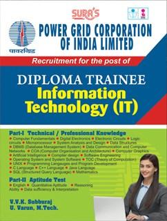 Power Grid Corporation Of India Ltd ( PGCIL ) Diploma Trainee Information Technology ( IT ) Exam Books 2018