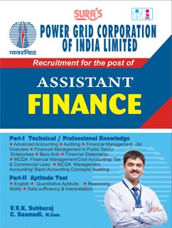 Power Grid Corporation Of India Ltd ( PGCIL ) Diploma Trainee Assistant Finance Exam Books 2018