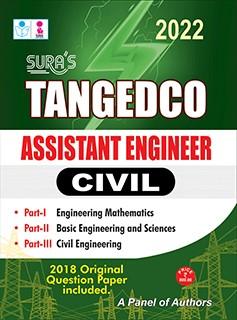 SURA`S TNEB Tangedco Assisant Engineer ( Civil ) Exam Books - Latest Edition 2022