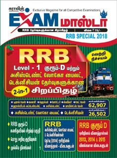 Sura`s Exam Master RRB Special Magazine