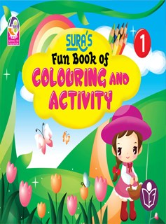 SURA`S Fun Book of Colouring and Activity - 1