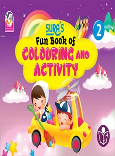 SURA`S Fun Book of Colouring and Activity - 2