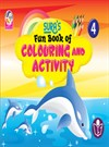 SURA`S Fun Book of Colouring and Activity - 4