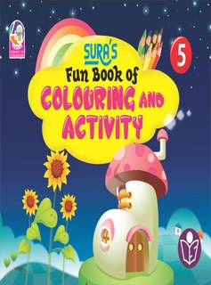 SURA`S Fun Book of Colouring and Activity - 5
