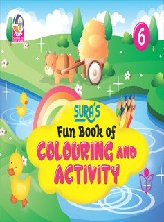 SURA`S Fun Book of Colouring and Activity - 6