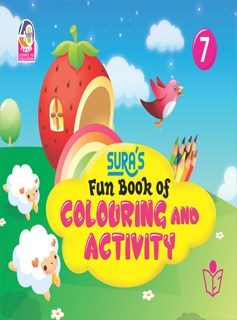 SURA`S Fun Book of Colouring and Activity - 7
