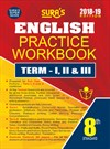8th Std English Practice Workbook Term I,II & III - Latest Edition 2018 - 2019 Guide
